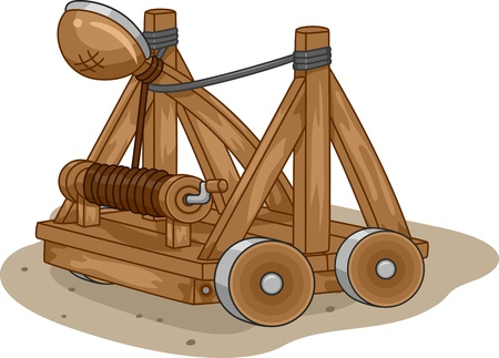 launch: Illustration of a Catapult