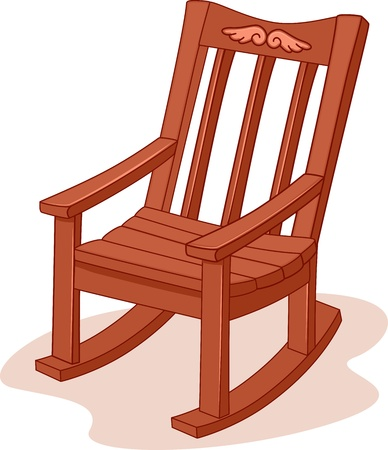 Illustration of a Rocking Chair