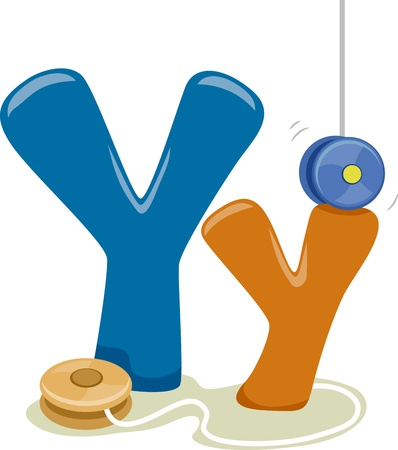 Illustration Featuring the Letter Y illustration