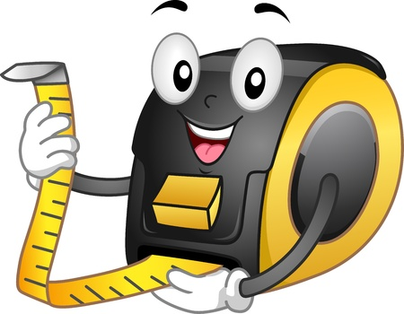 length: Mascot Illustration Featuring a Tape Master