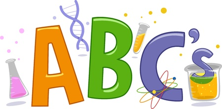 erlenmeyer: Text Illustration Featuring Laboratory Tools