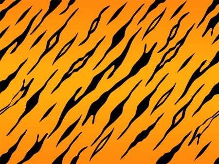 Achtergrond Illustratie van Tiger Animal Print Stockfoto