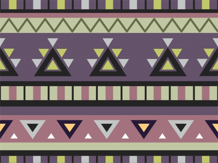 Background Illustration of Aztec Print  illustration