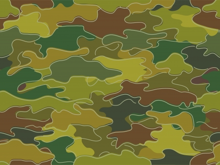concealment: Background Illustration of Camouflage Print