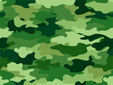 camouflage: Background Illustration of Green Camouflage Print