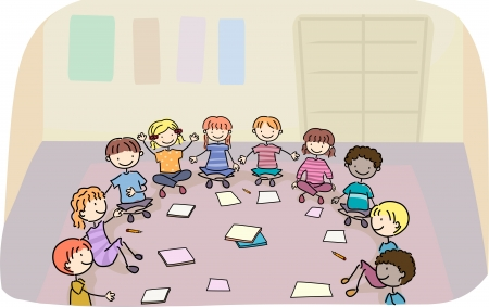 early education: Illustration of