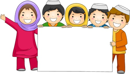 preschool child: Illustration of