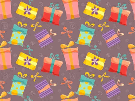 merrymaking: Background Illustration of Gifts