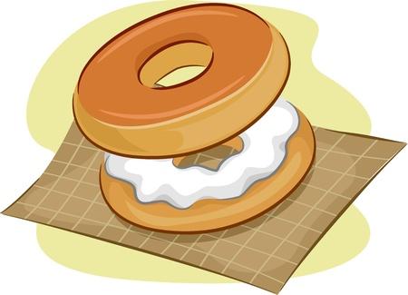 sweetened: Illustration of Bagels