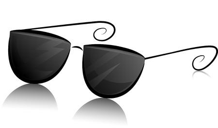 Sunglasses Clip Art Black And White