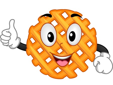 recommendation: Mascot Illustration Featuring a Criss Cross Cut Fry Giving a Thumbs Up