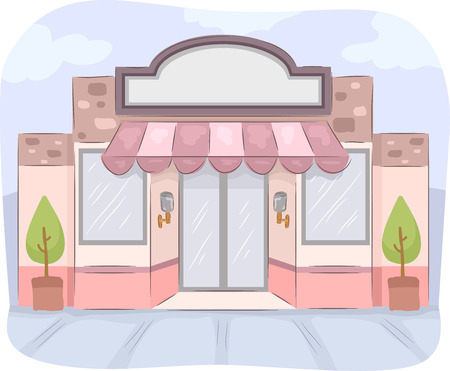 10 865 storefront stock vector illustration and royalty free rh 123rf com Storefront Windows storefront window clipart