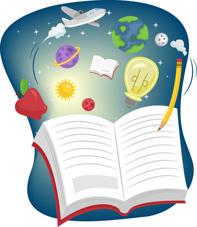related: Illustration of an Open Book Surrounded by Education Related Items