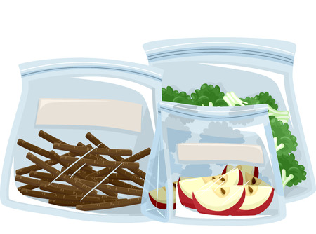 food storage: Illustration Featuring Different Ways to Store Food