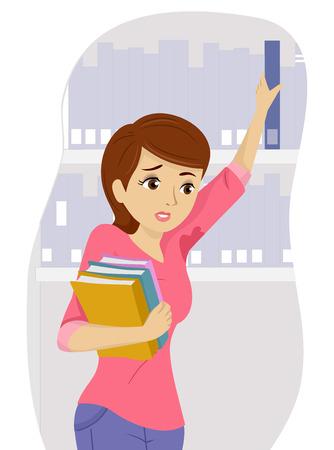 ashamed: Illustration of a Teenage Girl Distressed Over Her Wet Underarms