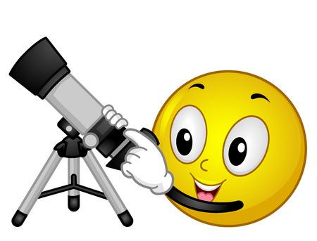 astronomy: Smiley Astronomy Refractor Telescope