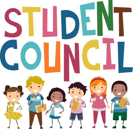 就学前の子供が運動を生徒会のメンバーになることを備えバッター イラスト 写真素材