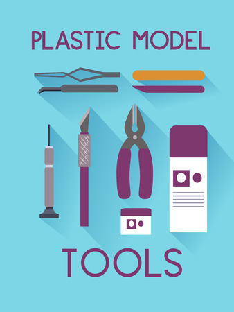 Illustration Featuring a Set of Plastic Modeling Toys