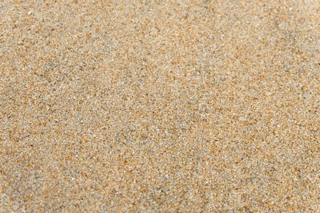 Sand on the beach as background or Sand texture background - Top view