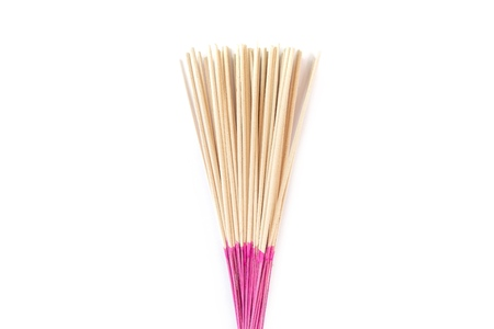 incense stick isolated on white background
