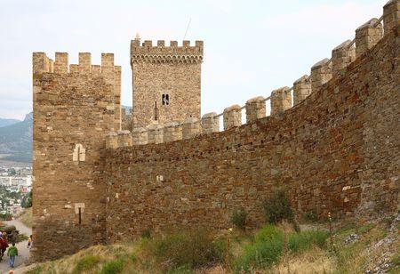 Genoese Sudak Castle photo