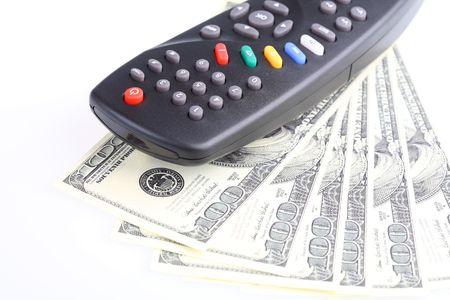 paid: Television remote control. Paid TV.