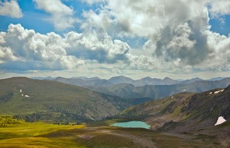 Mountain lake Stock Photo - 10604066