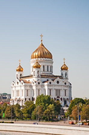 Orthodox church of Christ the Savior ,Moscow Stock Photo - 10890917