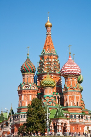 St. Basil (Cathedral of the Protection of the Virgin on the Ditch) Moscow Stock Photo - 10890866