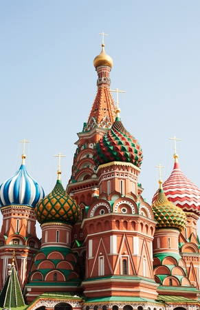 St. Basil (Cathedral of the Protection of the Virgin on the Ditch) Moscow Stock Photo - 10890861