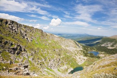 Top view of Karakol lakes in Altai mountains. Altai, Suberia Stock Photo - 10958808