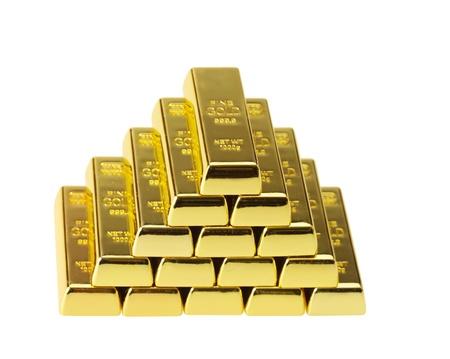 combined: lingotes de oro combinado con una pir�mide