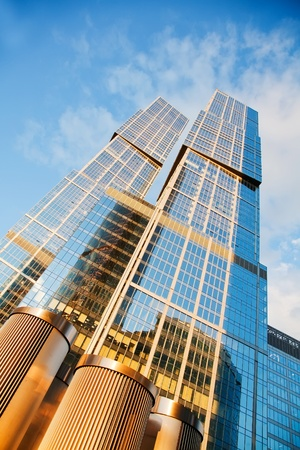 Modern skyscrapers Stock Photo - 11074027