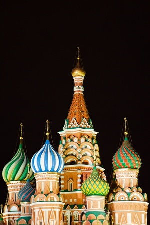 St Basil's Church on the Red Square in Moscow Stock Photo - 11353431
