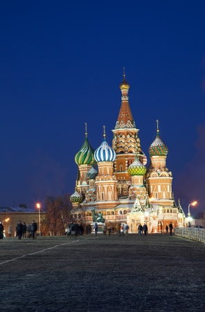 Saint Basil Cathedral in Moscow Stock Photo - 12953743