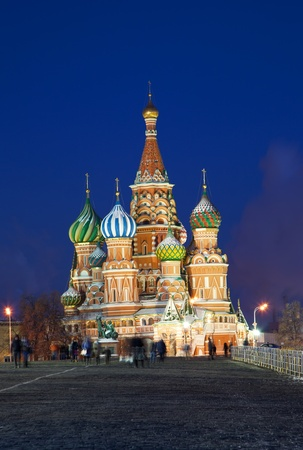 Saint Basil Cathedral in Moscow Stock Photo - 12953902