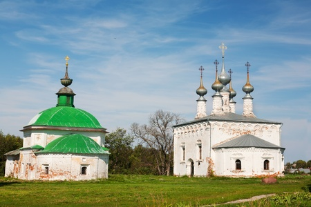 Church of Jesus' triumphal entry into Jerusalem, Suzdal, Russia Stock Photo - 13088653