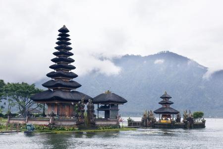 Ulun Danu temple Beratan Lake in Bali Indonesia Stock Photo - 13608664