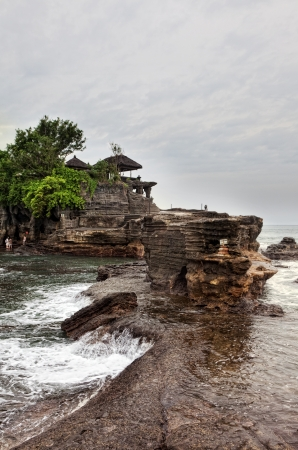 Temple in the sea( Pura tanah lot), Bali, Indonesia Stock Photo - 14071228