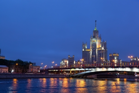 High-rise building on Kotelnicheskaya embankment in Moscow, Russia. Stock Photo - 14216100