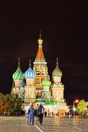Saint Basil Cathedral in Moscow  Stock Photo - 15103035