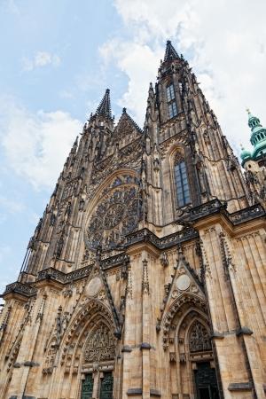 vitus: St. Vitus Cathedral in Prague, Czech Republic