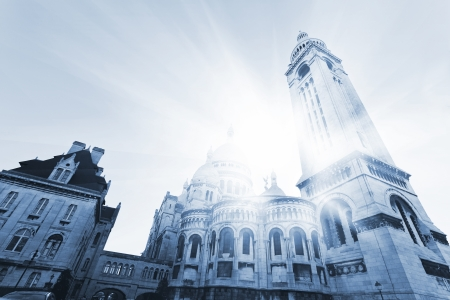 coeur: Sacre Coeur Basilica , Paris, France