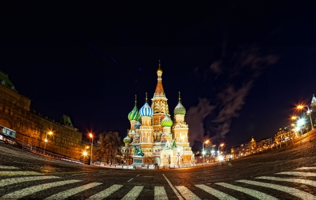 Saint Basil Cathedral in Moscow Stock Photo - 17907896