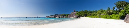 Panoramic view on a beach , Similan islands, Thailand