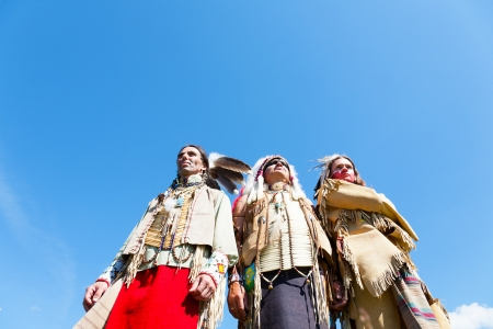 american indians: Group of North American Indians Editorial