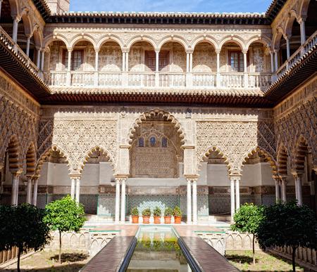 Royal Alcazars of Seville, Spain Editorial