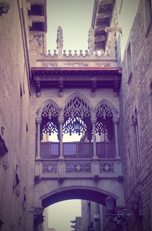 gotico: El barrio G�tico de Barcelona, ??Espa�a
