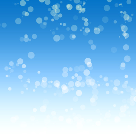 background sky: Blue background with a bokeh for design Stock Photo