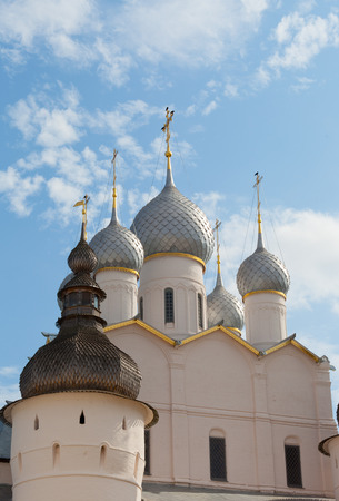 assumption: Rostov Kremlin, Assumption Cathedral domes